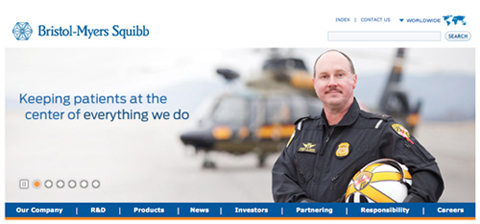bms website landing page photo