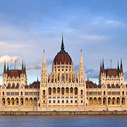 Parliament, shot on location, Budapest, Hungary