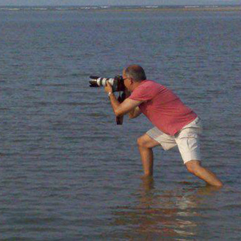 robert bruschini - photographer doing what he loves best